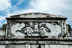 Νεκροταφείο του Λαφαγέτ Στοκ Εικόνα