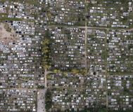 Νεκροταφείο του Τρακάι στη Λιθουανία στοκ φωτογραφία με δικαίωμα ελεύθερης χρήσης