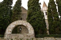 Νεκροταφείο των ηρώων Aquileia, Ιταλία Στοκ εικόνες με δικαίωμα ελεύθερης χρήσης