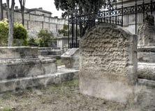 νεκροταφείο φαντασμάτων Στοκ φωτογραφία με δικαίωμα ελεύθερης χρήσης