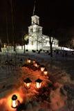 νεκροταφείο Στοκ εικόνα με δικαίωμα ελεύθερης χρήσης