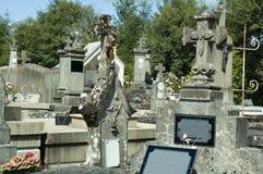 νεκροταφείο Στοκ εικόνες με δικαίωμα ελεύθερης χρήσης