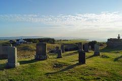 Νεκροταφείο Kilmuir, τάφος MacDonald ` s χλωρίδας στοκ φωτογραφίες με δικαίωμα ελεύθερης χρήσης