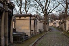 Νεκροταφείο Lachaise Pere, Παρίσι, Γαλλία Στοκ φωτογραφίες με δικαίωμα ελεύθερης χρήσης