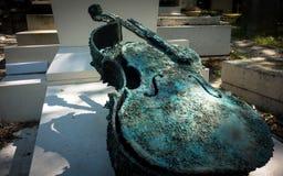 Νεκροταφείο Lachaise Pere στη Γαλλία Στοκ φωτογραφίες με δικαίωμα ελεύθερης χρήσης