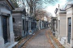 Νεκροταφείο Lachaise Pere Στοκ εικόνες με δικαίωμα ελεύθερης χρήσης