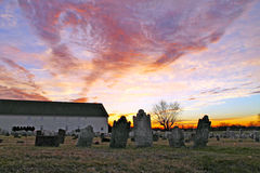 Νεκροταφείο Mennonite στοκ εικόνα με δικαίωμα ελεύθερης χρήσης