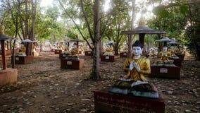 Νεκροταφείο Monywa στοκ φωτογραφίες