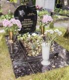 Νεκροταφείο Novodevichye Μαρίνα Ladynina ηθοποιών τάφων Στοκ Εικόνες