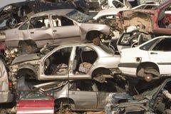 νεκροταφείο s αυτοκινήτων στοκ εικόνα με δικαίωμα ελεύθερης χρήσης
