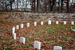 νεκροταφείο s του Bluff σφαι&r Στοκ φωτογραφίες με δικαίωμα ελεύθερης χρήσης