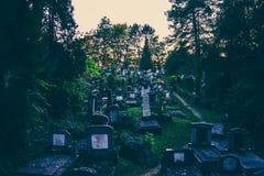 Νεκροταφείο Sighisoara Στοκ φωτογραφία με δικαίωμα ελεύθερης χρήσης