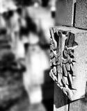 Νεκρόπολη Γντανσκ Zaspa, Πολωνία Καλλιτεχνικός κοιτάξτε σε γραπτό Στοκ φωτογραφία με δικαίωμα ελεύθερης χρήσης