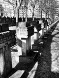 Νεκρόπολη Γντανσκ Zaspa, Πολωνία Καλλιτεχνικός κοιτάξτε σε γραπτό Στοκ Φωτογραφία