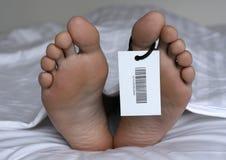 νεκρό άτομο Στοκ Φωτογραφίες