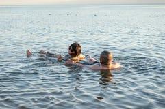 Νεκρό θέρετρο θάλασσας, Ιορδανία Στοκ Εικόνες