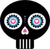 νεκρό μεξικάνικο κρανίο ημέ& Στοκ φωτογραφία με δικαίωμα ελεύθερης χρήσης