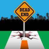Νεκρό endplate διανυσματική απεικόνιση