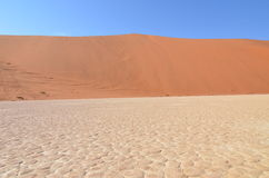 Νεκρό Vlei στην έρημο Namib, Ναμίμπια Στοκ φωτογραφία με δικαίωμα ελεύθερης χρήσης