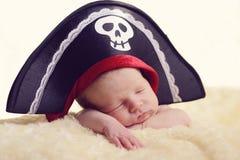 Νεογέννητος πειρατής Στοκ εικόνες με δικαίωμα ελεύθερης χρήσης