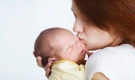 νεογέννητος ύπνος παιδιών Στοκ Εικόνα