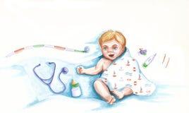 Νεογέννητος Στοκ Φωτογραφίες