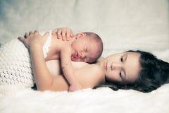 Νεογέννητο αγοράκι Στοκ φωτογραφία με δικαίωμα ελεύθερης χρήσης