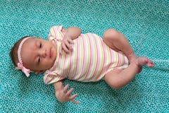 νεογέννητο γλυκό κοριτσ Στοκ φωτογραφία με δικαίωμα ελεύθερης χρήσης