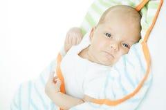 Νεογέννητο μωρό ηλικία ενός μήνα στοκ εικόνα με δικαίωμα ελεύθερης χρήσης