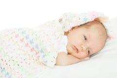 Νεογέννητο μωρό ηλικία ενός μήνα στοκ φωτογραφίες με δικαίωμα ελεύθερης χρήσης