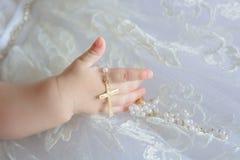 Νεογέννητο χέρι μωρών Στοκ εικόνα με δικαίωμα ελεύθερης χρήσης
