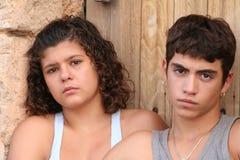 νεολαία προβλημάτων Στοκ φωτογραφίες με δικαίωμα ελεύθερης χρήσης