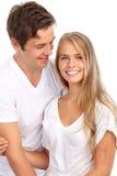 νεολαίες αγάπης ζευγών Στοκ εικόνες με δικαίωμα ελεύθερης χρήσης