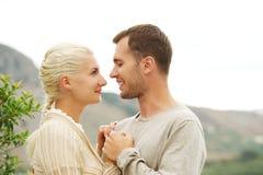 νεολαίες αγάπης ζευγών Στοκ Εικόνα