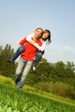 νεολαίες αγάπης ζευγών Στοκ φωτογραφία με δικαίωμα ελεύθερης χρήσης