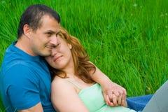 νεολαίες αγάπης ζευγών Στοκ εικόνα με δικαίωμα ελεύθερης χρήσης