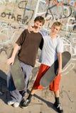 νεολαίες αγοριών Στοκ Φωτογραφία