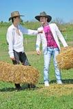 νεολαίες αγροτών Στοκ Φωτογραφία