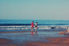 νεολαίες ακροθαλασσ&io στοκ εικόνες