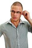 νεολαίες ατόμων γυαλιών Στοκ Εικόνες