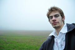 νεολαίες ατόμων γυαλιών &p Στοκ Φωτογραφίες