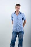 νεολαίες ατόμων μόδας Στοκ φωτογραφία με δικαίωμα ελεύθερης χρήσης