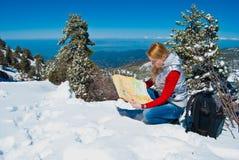 νεολαίες βουνών κοριτσ& Στοκ φωτογραφίες με δικαίωμα ελεύθερης χρήσης