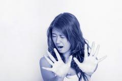 νεολαίες γυναικών έκφρασης Στοκ Φωτογραφία