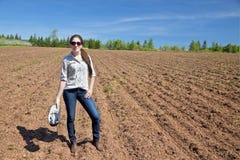 νεολαίες γυναικών αγροτών Στοκ εικόνες με δικαίωμα ελεύθερης χρήσης