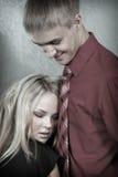 νεολαίες γυναικών ανδρών Στοκ Εικόνες