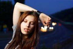 νεολαίες γυναικών βλασ Στοκ εικόνες με δικαίωμα ελεύθερης χρήσης