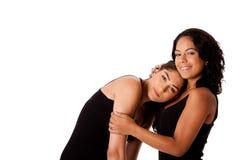 νεολαίες γυναικών ζευγών στοκ εικόνα με δικαίωμα ελεύθερης χρήσης