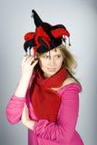 νεολαίες γυναικών καπέλ& Στοκ φωτογραφίες με δικαίωμα ελεύθερης χρήσης