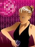 νεολαίες γυναικών κοκτ Στοκ εικόνα με δικαίωμα ελεύθερης χρήσης